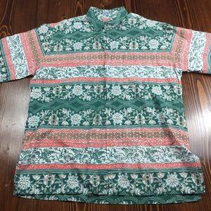 Sida Mutki Men's Handmade Cotton Shirt. Size L